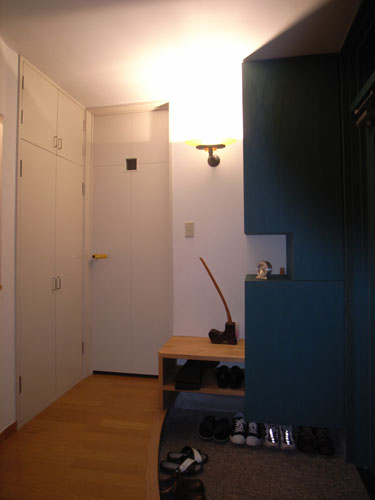 上清水の家 玄関内部