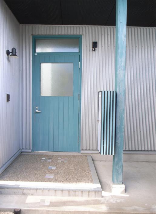 上清水の家玄関