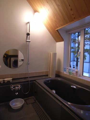 上清水の家浴室