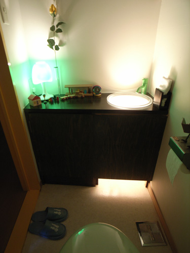 上清水の家トイレ